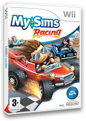 MySims Racing pochette Wii (RQGP69)