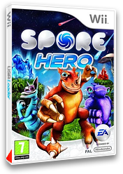 Spore Hero pochette Wii (RQOP69)