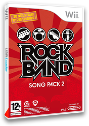Rock Band Song Pack 2 pochette Wii (RRDP69)