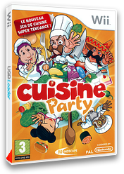Cuisine Party pochette Wii (RRJPMR)