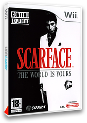 Scarface : The World Is Yours pochette Wii (RSCP7D)