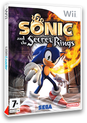 Sonic and the Secret Rings pochette Wii (RSRP8P)