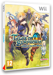 Tales of Symphonia:Dawn of the New World pochette Wii (RT4PAF)