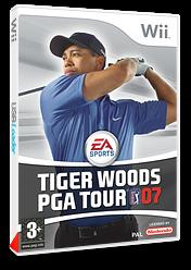 Tiger Woods PGA Tour 07 pochette Wii (RT7F69)