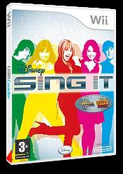 Disney : Sing It pochette Wii (RUIP4Q)