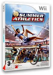 Summer Athletics pochette Wii (RUMPFR)