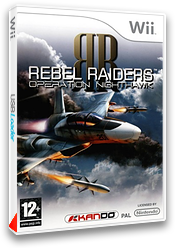 Rebel Raiders : Operation Nighthawk pochette Wii (RVRPKG)