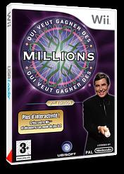 Qui Veut Gagner Des Millions: 2ème Edition pochette Wii (RW5F41)