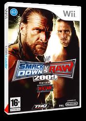 WWE SmackDown vs. Raw 2009 pochette Wii (RW9P78)