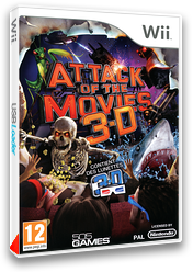 Attack of the Movies 3D pochette Wii (S3APGT)