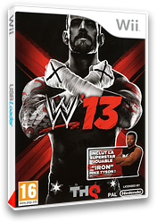 WWE '13 pochette Wii (S3XP78)