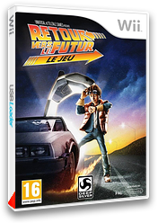 Retour vers le Futur - Le Jeu pochette Wii (S5BPKM)