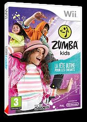 Zumba Kids:La fête ultime pour les enfants pochette Wii (S7FPGT)