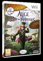 Alice au Pays des Merveilles pochette Wii (SALP4Q)