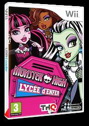 Monster High:Lycée d'Enfer pochette Wii (SAOXVZ)