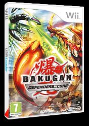 Bakugan:Defenders of the Core pochette Wii (SB6P52)