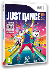 Just Dance 2018 pochette Wii (SE8P41)