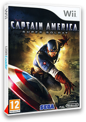 Captain America :Super Soldier pochette Wii (SFQP8P)