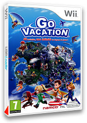 Go Vacation pochette Wii (SGVPAF)