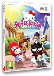 Hello Kitty Seasons pochette Wii (SHKPNQ)