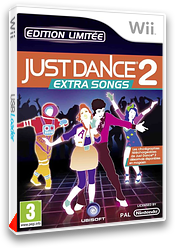 Just Dance 2 : Extra Songs pochette Wii (SJ9P41)
