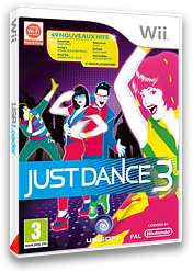 Just Dance 3 pochette Wii (SJDP41)