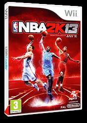 NBA 2K13 pochette Wii (SKSP54)