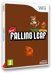 Newer Super Mario Bros. Wii: Falling Leaves pochette CUSTOM (SMNP23)