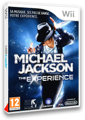 Michael Jackson: The Experience pochette Wii (SMOP41)
