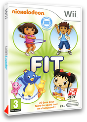 Nickelodeon Fit pochette Wii (SNKX54)