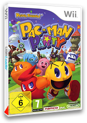 Pac-Man Party pochette Wii (SP7PAF)