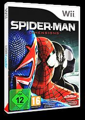Spider-Man:Dimensions pochette Wii (SPDP52)