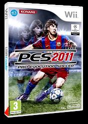Pro Evolution Soccer 2011 pochette Wii (SPVPA4)
