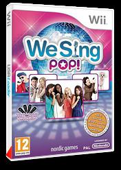 We Sing Pop! pochette Wii (SQEPNG)