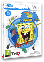 Bob L'Eponge: La Grande Art-Venture pochette Wii (SS8P78)