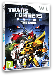Transformers Prime : The Game pochette Wii (STFP52)