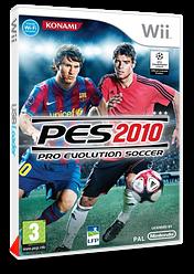 Pro Evolution Soccer 2010 pochette Wii (SUXPA4)