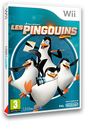 Les Pingouins de Madagascar pochette Wii (SV7PVZ)