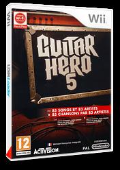 Guitar Hero 5 pochette Wii (SXEP52)
