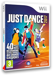 Just Dance 2017 pochette Wii (SZ7P41)