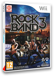 Rock Band 3 pochette Wii (SZBP69)