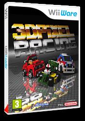 3D Pixel Racing pochette WiiWare (W3FP)