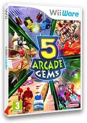 5 Arcade Gems pochette WiiWare (W5AP)