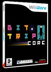 Bit.Trip Core pochette WiiWare (W8CP)
