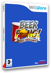Beer Pong:Frat Party Games pochette WiiWare (WBEP)