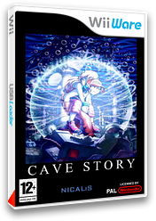 Cave Story pochette WiiWare (WCVP)