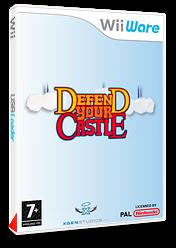 Defend your Castle pochette WiiWare (WDFP)