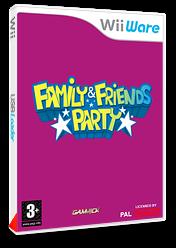 Family & Friends Party pochette WiiWare (WFMP)