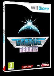 Gradius Rebirth pochette WiiWare (WGDP)