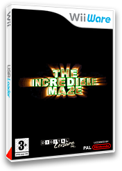 The Incredible Maze pochette WiiWare (WINP)